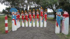 Bollard Soldiers